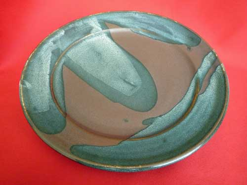 Ray Finch Poured Glaze Charger